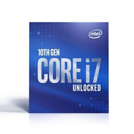 インテル Intel 〔CPU〕 Intel Core i7-10700K BX8070110700K