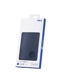 NEC エヌイーシー 【純正】LAVIE Tab PC-TE507KAS用 カバー&保護フィルム ネイビーブルー PC-AC-AD018C