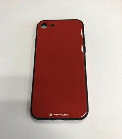 I-O DATA アイ・オー・データ 【ビックカメラグループオリジナル】iPhone SE(第2世代)4.7インチ/iPhone8 / 7用 ガラス+TPU+アルミ複合素材ケース レッド BKS-IP8TGGARD【point_rb】