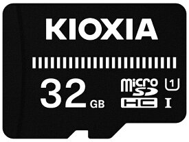 KIOXIA キオクシア microSDHCカード UHS-I EXCERIA BASIC KMUB-A032G [32GB /Class10]