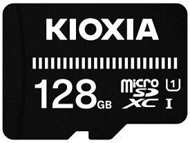 KIOXIA microSDXCカード UHS-I EXCERIA BASIC KMUB-A128G [128GB /Class10]