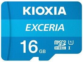 KIOXIA キオクシア microSDHCカード UHS-I EXCERIA KMU-A016G [16GB /Class10]