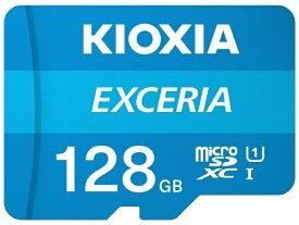 KIOXIA microSDXCカード UHS-I EXCERIA KMU-A128G [128GB /Class10]