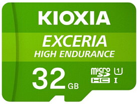 KIOXIA microSDHCカード UHS-I EXCERIA HIGH ENDURANCE KEMU-A032G [32GB /Class10]