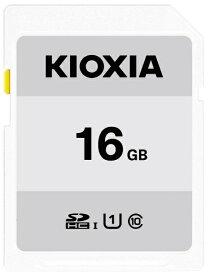 KIOXIA キオクシア SDHCカード UHS-I EXCERIA BASIC KSDB-A016G [16GB /Class10]