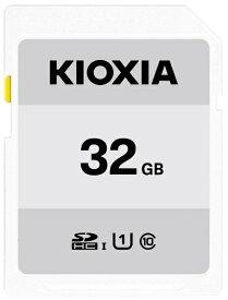 KIOXIA キオクシア SDHCカード UHS-I EXCERIA BASIC KSDB-A032G [32GB /Class10]