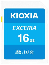 KIOXIA キオクシア SDHCカード UHS-I EXCERIA KSDU-A016G [16GB /Class10]