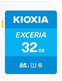 KIOXIA キオクシア SDHCカード UHS-I EXCERIA KSDU-A032G [32GB /Class10]