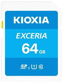 KIOXIA キオクシア SDXCカード UHS-I EXCERIA KSDU-A064G [64GB /Class10]