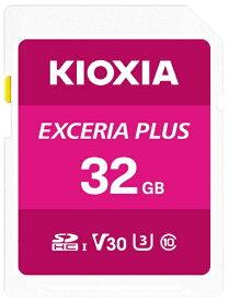 KIOXIA キオクシア SDHCカード UHS-I EXCERIA PLUS KSDH-A032G [32GB /Class10]