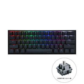 DUCKY ダッキー dk-one2-rgb-mini-silver-rat ゲーミングキーボード One 2 Mini RGB 60% version シルバー軸(英語配列) [USB /有線]