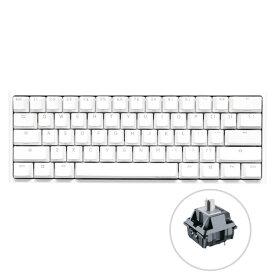 DUCKY ダッキー dk-one2-rgb-mini-pw-silver-rat ゲーミングキーボード One 2 Mini Pure White RGB 60% シルバー軸(英語配列) [USB /有線]