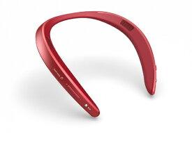 シャープ SHARP ネックスピーカー レッド AN-SS2-R [Bluetooth対応 /防水]