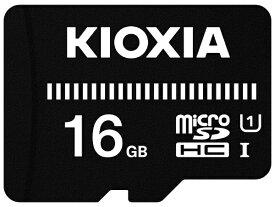 KIOXIA キオクシア microSDHCカード UHS-I EXCERIA BASIC KMUB-A016G [16GB /Class10]