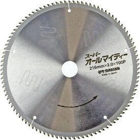 山真製鋸 YAMASHIN YAMASHIN スーパーオールマイティー 卓上・スライド丸ノコ用 YAMASHIN SPT-YSD-216SOY