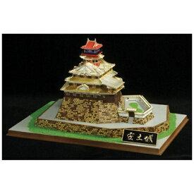 童友社 DOYUSHA 1/540 日本の名城 ジョイジョイゴールドコレクション No.10 安土城(ゴールドメッキ版)