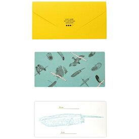 山桜 YAMAZAKURA D[di: ]cashico長方形カード・タトウ 鳥 黄 351403