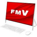 富士通 FUJITSU FMVF70E1W デスクトップパソコン FMV ESPRIMO FH70/E1 ホワイト [23.8型 /SSD:512GB /メモリ:8GB /…