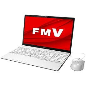 富士通 FUJITSU FMVA42E1W1 ノートパソコン FMV LIFEBOOK AH42/E1 プレミアムホワイト [15.6型 /AMD Athlon /SSD:256GB /メモリ:4GB /2020年5月モデル][15.6インチ office付き 新品 windows10]