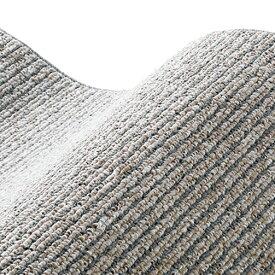 スミノエ SUMINOE ラグ カルル(185×185cm/軽量/ウォッシャブル/床暖対応/グレー)【日本製】