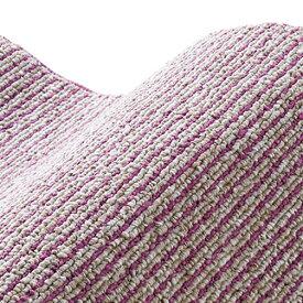 スミノエ SUMINOE ラグ カルル(185×185cm/軽量/ウォッシャブル/床暖対応/パープル)【日本製】