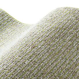 スミノエ SUMINOE ラグ カルル(250×250cm/軽量/ウォッシャブル/床暖対応/オリーブ)【日本製】