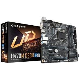 GIGABYTE ギガバイト マザーボード H470M DS3H [MicroATX /LGA1200]
