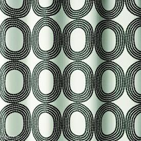 スミノエ SUMINOE ドレープカーテン ドットリング(100×178cm/ブラック)