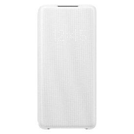 SAMSUNG サムスン 【サムスン純正】Galaxy S20+ LED VIEW COVER ホワイト EF-NG985PWEGJP