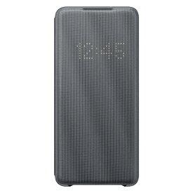 SAMSUNG サムスン 【サムスン純正】Galaxy S20+ LED VIEW COVER グレ‐ EF-NG985PJEGJP