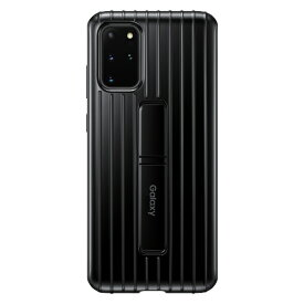 SAMSUNG サムスン 【サムスン純正】Galaxy S20+ PROTECTIVE STANDING COVER ブラック EF-RG985CBEGJP