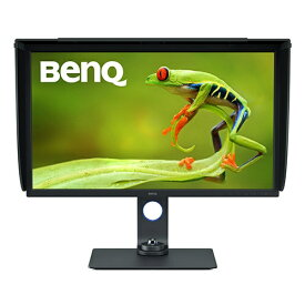 BenQ ベンキュー SW321C USB-C接続 PCモニター ダークグレイ [32型 /ワイド /4K(3840×2160)]