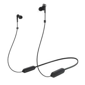オーディオテクニカ audio-technica ブルートゥースイヤホン カナル型 ブラック ATH-CKS330XBT BK [リモコン・マイク対応 /ワイヤレス(左右コード) /Bluetooth]