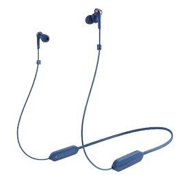 オーディオテクニカ audio-technica ブルートゥースイヤホン カナル型 ブルー ATH-CKS330XBT BL [リモコン・マイク対応 /ワイヤレス(左右コード) /Bluetooth]