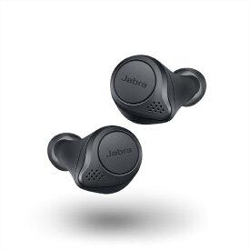 JABRA ジャブラ フルワイヤレスイヤホン ELITEACTIVE75T グレイ [リモコン・マイク対応 /ワイヤレス(左右分離) /Bluetooth /ノイズキャンセリング対応]【point_rb】