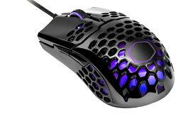 クーラーマスター COOLER MASTER MM-711-KKOL2 ゲーミングマウス MasterMouse MM711 Black glossy [光学式 /6ボタン /USB /有線]