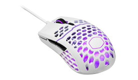 クーラーマスター COOLER MASTER MM-711-WWOL2 ゲーミングマウス MasterMouse MM711 White glossy [光学式 /6ボタン /USB /有線]