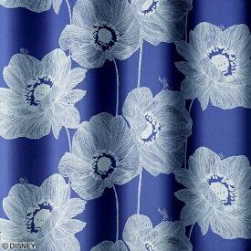 スミノエ SUMINOE ドレープカーテン オオキイアネモネ(100×135cm/DB)