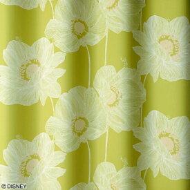 スミノエ SUMINOE ドレープカーテン オオキイアネモネ(100×200cm/YG)