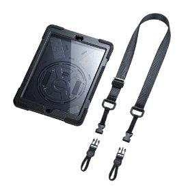 サンワサプライ SANWA SUPPLY 10.2インチ iPad(第7世代)用 前面保護フィルター付耐衝撃ケース PDA-IPAD1620BK