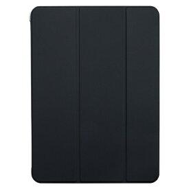 BUFFALO バッファロー 11インチ iPad Pro(第2世代)用 ハイブリッドマットレザーケース ブラック BSIPD2011CHLBK