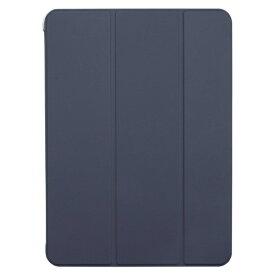 BUFFALO バッファロー 11インチ iPad Pro(第2世代)用 ハイブリッドマットレザーケース ブルー BSIPD2011CHLBL