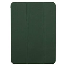 BUFFALO バッファロー 11インチ iPad Pro(第2世代)用 ハイブリッドマットレザーケース カーキー BSIPD2011CHLGR