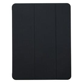 BUFFALO バッファロー 12.9インチ iPad Pro(第4世代)用 ハイブリッドマットレザーケース ブラック BSIPD2012CHLBK