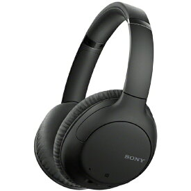 ソニー SONY ブルートゥースヘッドホン ブラック WH-CH710N BZ [リモコン・マイク対応 /Bluetooth /ノイズキャンセリング対応]
