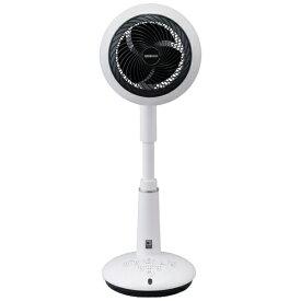 アイリスオーヤマ IRIS OHYAMA KSF-DCV151T サーキュレーター扇風機 15cm 音声操作 ホワイト [DCモーター搭載 /リモコン付き]【point_rb】