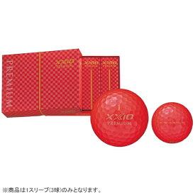 ダンロップ ゼクシオ DUNLOP XXIO ゴルフボール ゼクシオ PREMIUM ロイヤルレッド XNP7RED [3球(1スリーブ) /ディスタンス系]
