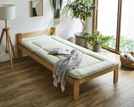イケヒコ IKEHIKO 森の眠り 敷布団 シングルサイズ(グリーン)