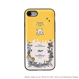HAMEE ハミィ [iPhone SE 2020/8/7専用]ディズニーキャラクター Latootoo カード収納型 ミラー付きiPhoneケース 599-917336 ボタニカルプー