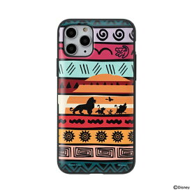 HAMEE ハミィ [iPhone 11 Pro専用]ディズニーキャラクター Latootoo カード収納型 ミラー付きiPhoneケース Latootoo ライオンキング 599-917404